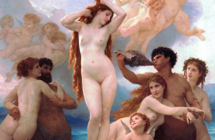 "William-Adolphe Bouguereau, ""Venüs'ün Doğuşu"""