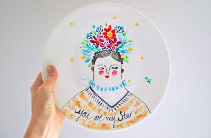 Tabak Boyama Atölyesi – Porselen Tabak Boyama