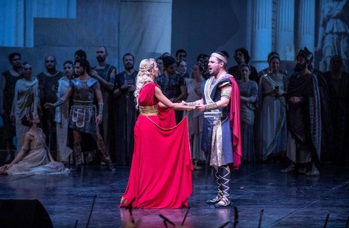 Troya Efsanesi Gösterisi