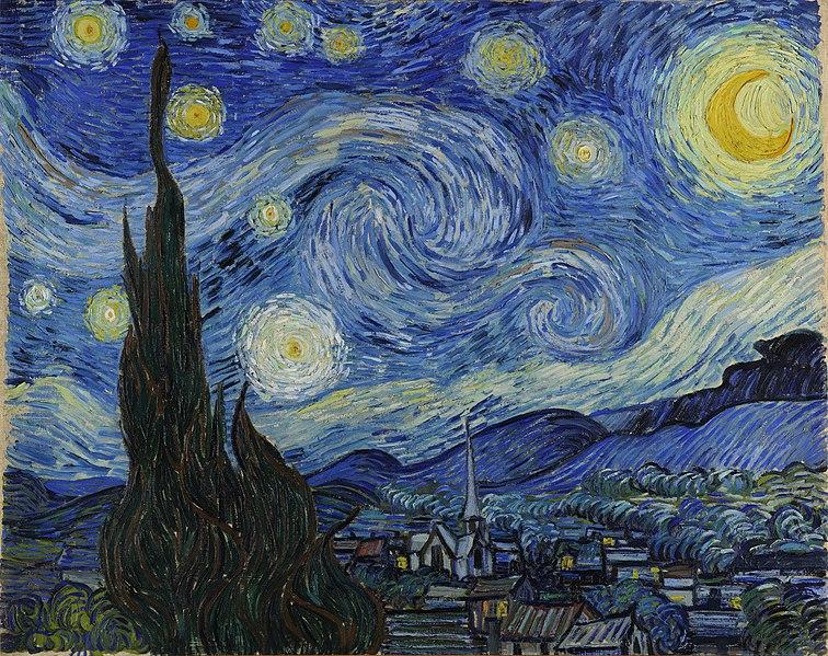 Yıldızlı Gece (1889)