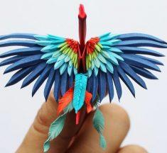 Origamide Sınırları Zorlayan Sanatçı