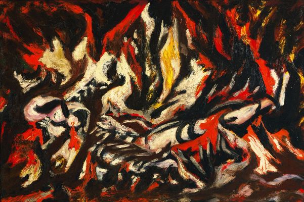 Jackson-Pollock Kimdir The-Flame-1938