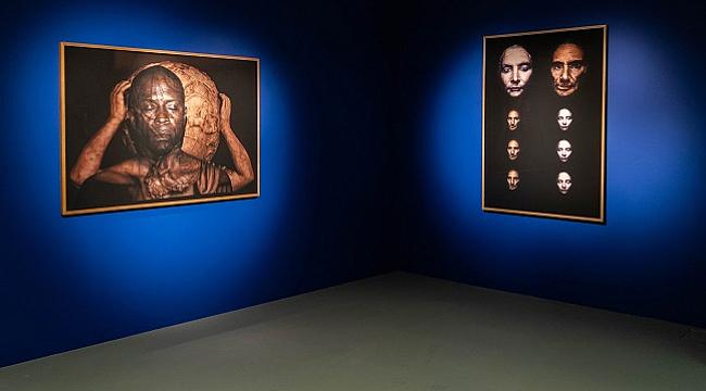 """Theo Eshetu'nun """"Yüzler ve Yerler"""" Sergisi Akbank Sanat'ta"""