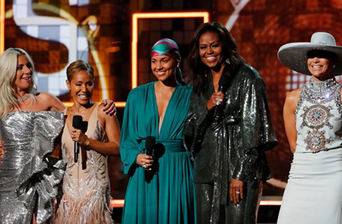 61. Grammy Ödülleri, Los Angeles'taki Staples Center'da Alicia Keys'in sunduğu törenle sahiplerini buldu.