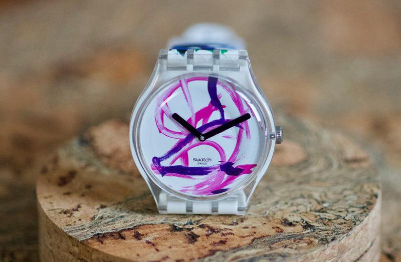 Swatch'un Yeni Sınırlı Üretim Saatleri Pigcasso İmzası Taşıyor