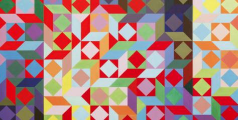 Victor Vasarely ile Optik Sanat