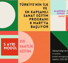 Sanat Eğitimi : Sanat ve Kültür Disiplinleri MİNİ MBA ve Sertifika Programı – Bahçeşehir Üniversitesi